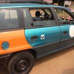 Accra - taxi driver