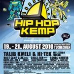 Hip Hop Kemp 2010 mit 3o im Lineup!