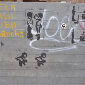 3o havanna favela wall