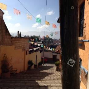 Mexico - San Cristobal Flags