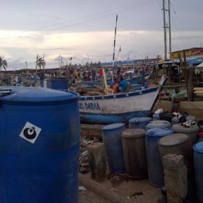 Elmina Boats - Ghana
