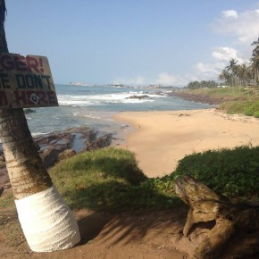 Connecting with the past in Elmina