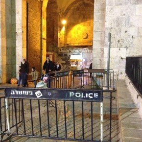 The Damascus Gate to the 'holy' city - Jerusalem, Israel