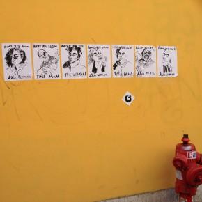Lisboa - signs on the walls.